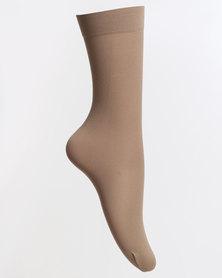 Falke Senior Ballet Anklet With Lycra Bare Beige