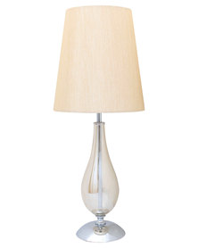 Eurolux Champagne Glass T/Lamp with Shade