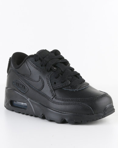 pretty nice 528e3 e89cd Nike Air Max 90 Leather PS Sneaker Black   Zando