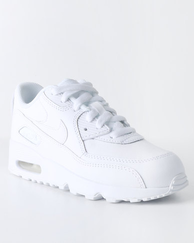 info for f98fd b2d3b Nike Air Max 90 Leather PS Sneaker White   Zando