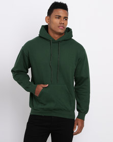 Fruit of the Loom Hooded Sweat Green