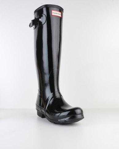 Hunter Boots Original Tall Gloss Black  4a585a5f16