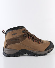 Wolverine Backledge Mid Boot Brown