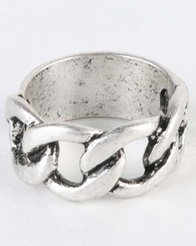 Icon Brand All That Band Ring Silver-Tone