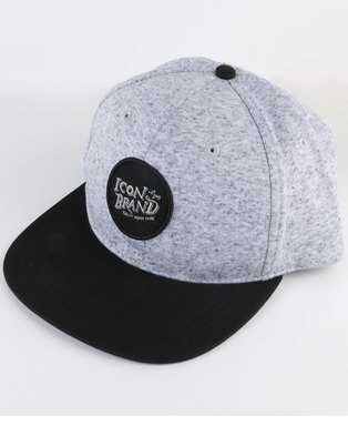 ca062c2c200 Icon Brand Lottery Cap Grey