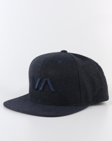 155eb7361 RVCA VA Snapback II Cap Blue