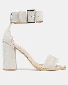 Public Desire Marlo Heels Grey