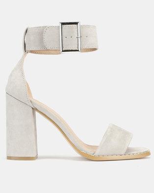 04e95661226 Public Desire Marlo Heels Grey