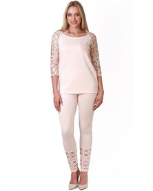 Jatine Kook Leggings Blush Pink