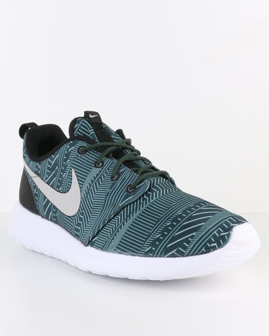 official photos cf499 19829 Nike Roshe One Print Grove Green   Zando