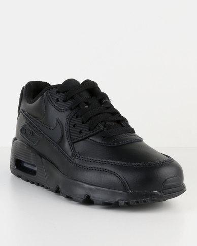 info for 11173 255f7 Nike Air Max 90 LTR GS Sneakers Black   Zando