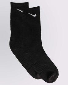 Nike Kids Cushion Crew 3 Pack Socks Black