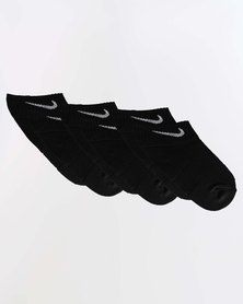 Nike Kids Performance Cushion 3 Pack Socks Black