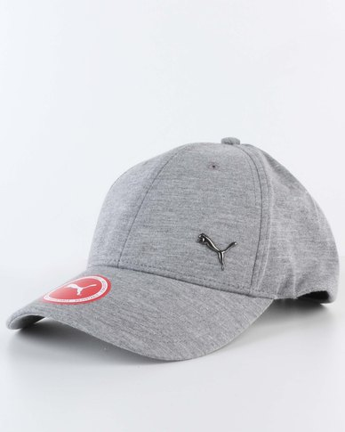 Puma Metal Cat Cap Medium Grey  ae0d46195d0