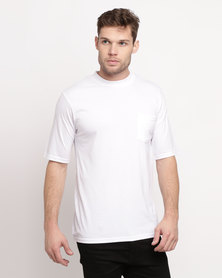Great American One Pocket T-Shirt White