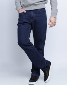 Soviet Mens Enigma #5 Basic Straight Leg Denims Indigo
