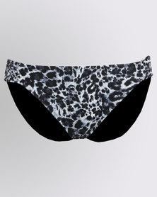 O Beach Dorina Jalessa Swimwear Bikini Grey Animal Print