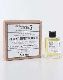 The Gentleman's Beard Club Beard Oil Fresh Wood
