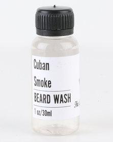 The Gentleman's Beard Club Mini Beard Wash Cuban Smoke