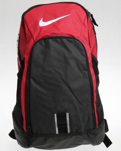 32af8c27db0988 Nike Alpha Rev Backpack Black And Red   Zando
