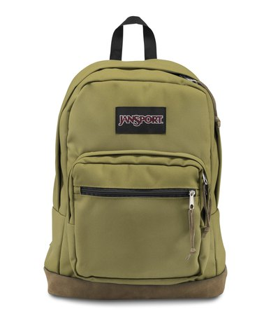 size 40 13806 1c378 JanSport Right Pack Backpack Olive Green   Zando