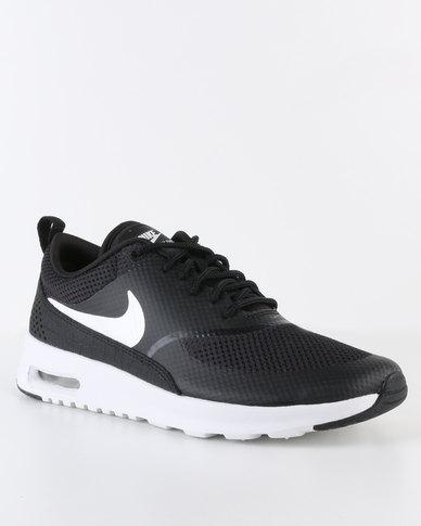 9f46343ff8ccb3 Nike Womens Air Max Thea Black