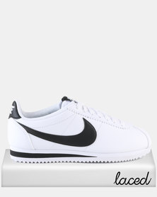 Nike Womens Classic Cortez Leather White