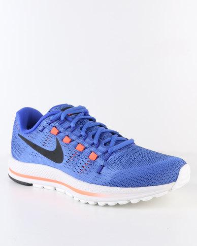 c0c1bca53392 Nike Performance Men s Air Zoom Vomero 12 Running Shoe Blue