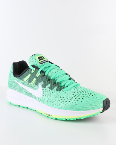 35510ae699e13 Nike Performance Men s Air Zoom Structure 20 Running Shoe Green