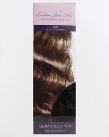EMBRACE YOUR HAIR Weft G Chocolate Brown