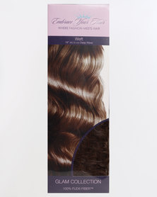 EMBRACE YOUR HAIR Weft G Charcoal Caramel