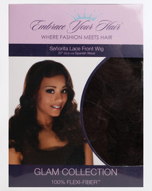 EMBRACE YOUR HAIR Senorita Lace Front Wig Chocolate Brown