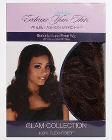 EMBRACE YOUR HAIR Senorita Lace Front Wig Honey Almond