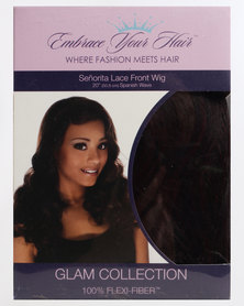 EMBRACE YOUR HAIR Senorita Lace Front Wig Charcoal Fire