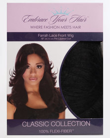 EMBRACE YOUR HAIR Farrah Lace Front Wig Silky Black