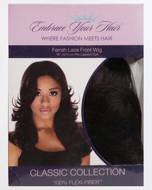 EMBRACE YOUR HAIR Farrah Lace Front Wig Chocolate Brown
