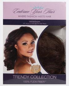 EMBRACE YOUR HAIR Va Va Voom Clip On Half Wig/Piece Honey Almond