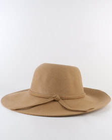 IRIS Daisy Sun Hat With Internal Adjustable Size Band Beige