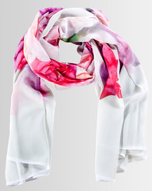 BLACK® The Rose Collection Scarf Pink