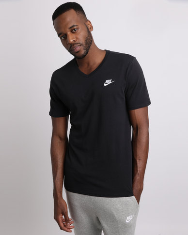 Nike M NSW Tee VNK Club EMBRD FTRA Black  00f9d101ea17b