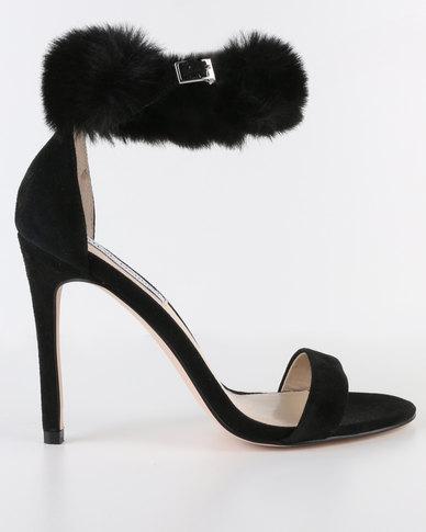 Steve Madden Stelah Stiletto Sandals Black