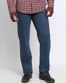 Crockett & Jones 5 Pocket Denim Jeans Blue