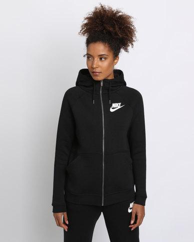 hot sale online 07135 6ad58 Nike Women s Sportswear Rally Hoodie Black   Zando