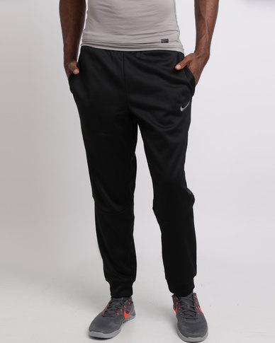 Nike Performance Men's Therma Tapered Training Pants Black