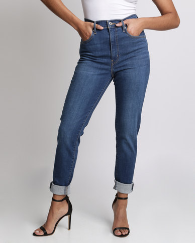 a475b4b0 Levi's ® Mile High Super Skinny Running Wild Jeans Blue | Zando