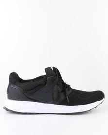 Soviet Leeds Casual Low Cut Lace Up Sneaker Black