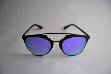 dfe1fca10c Complete the look. Lentes & Marcos Carpetana Polarised Purple Mirrored Cat-Eye  Sunglasses