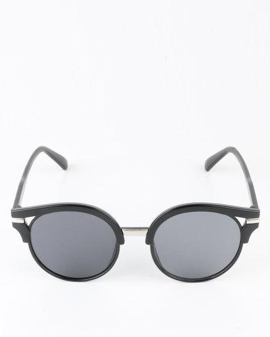 19a7e15ecff You   I Round Vintage Sunglasses Black