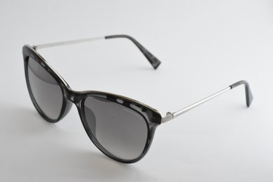 Lentes & Marcos Avenida de la Paz UV400 Grey Tortoise-Shell  Cat-Eye Sunglasses