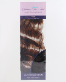EMBRACE YOUR HAIR Weft Charcoal Fire